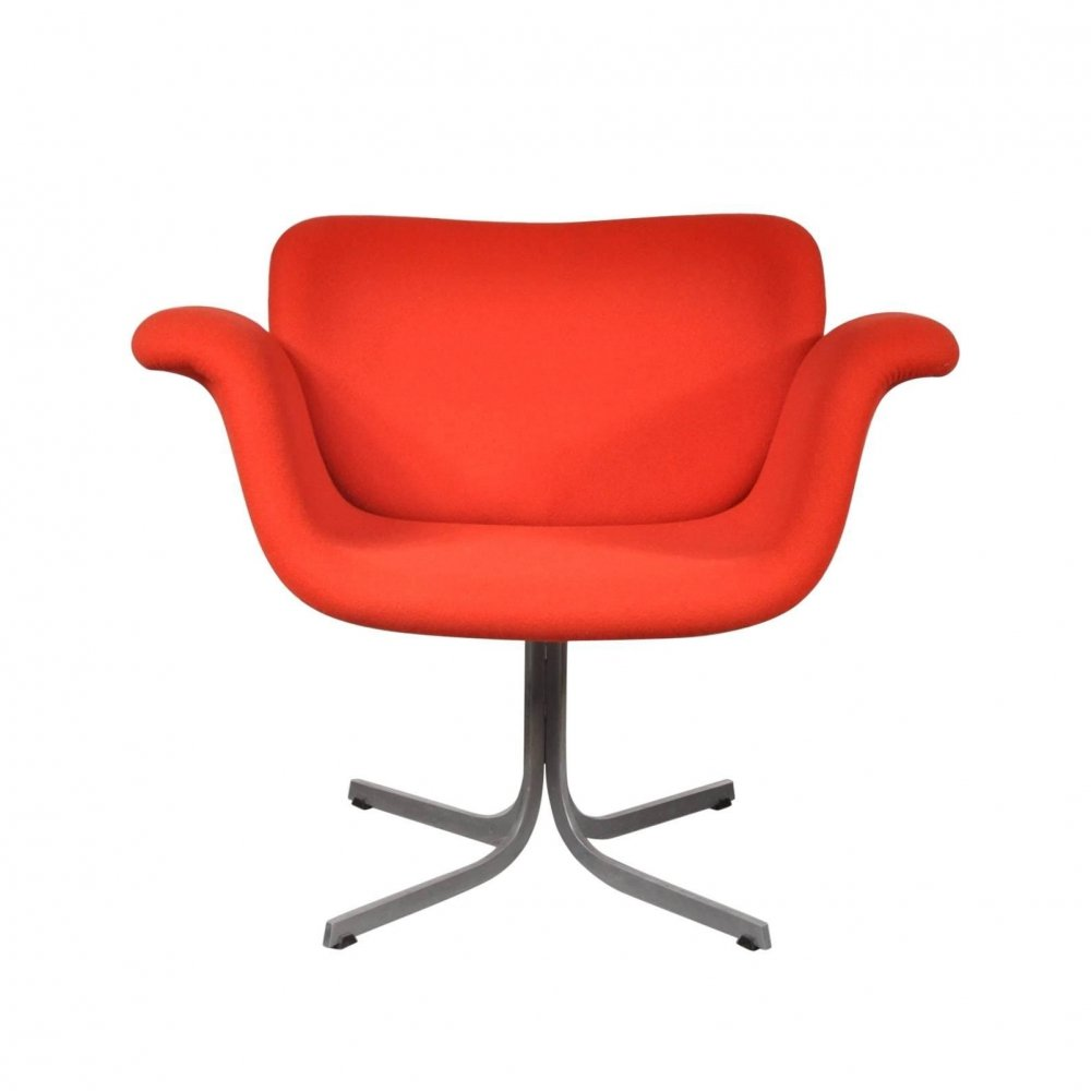 1st Edition Tulip Chair by Pierre Paulin for Artifort, Netherlands 1950s