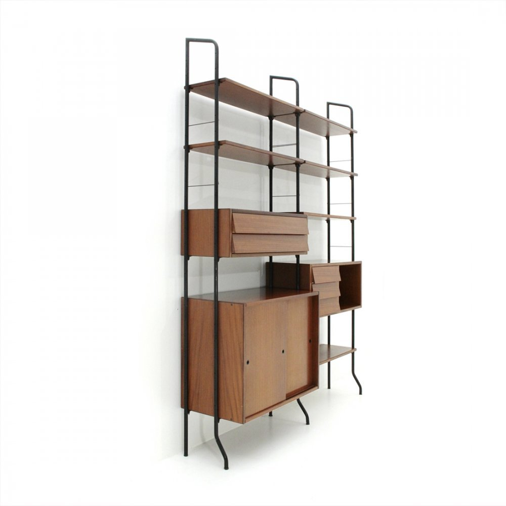 Italian Mid century Aedes wall unit by Amma, 1950s
