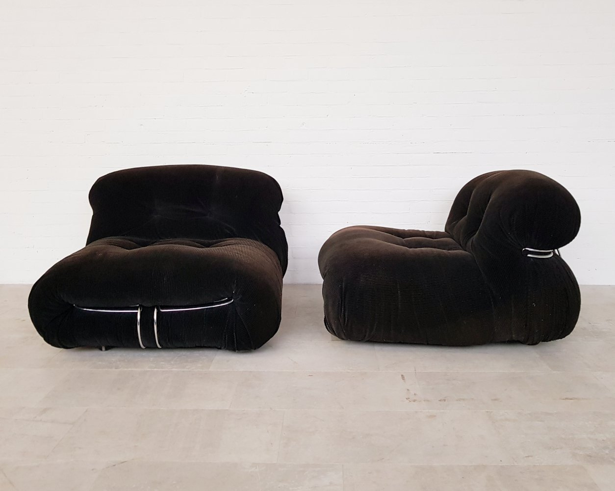 Soriana chairs by Afra & Tobia Scarpa for Cassina, 1970s