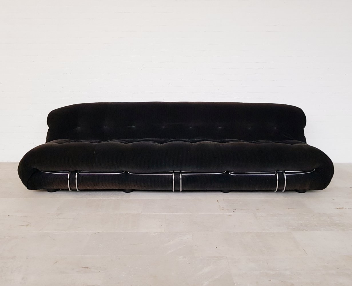 Soriana sofa by Afra & Tobia Scarpa for Cassina, 1970s