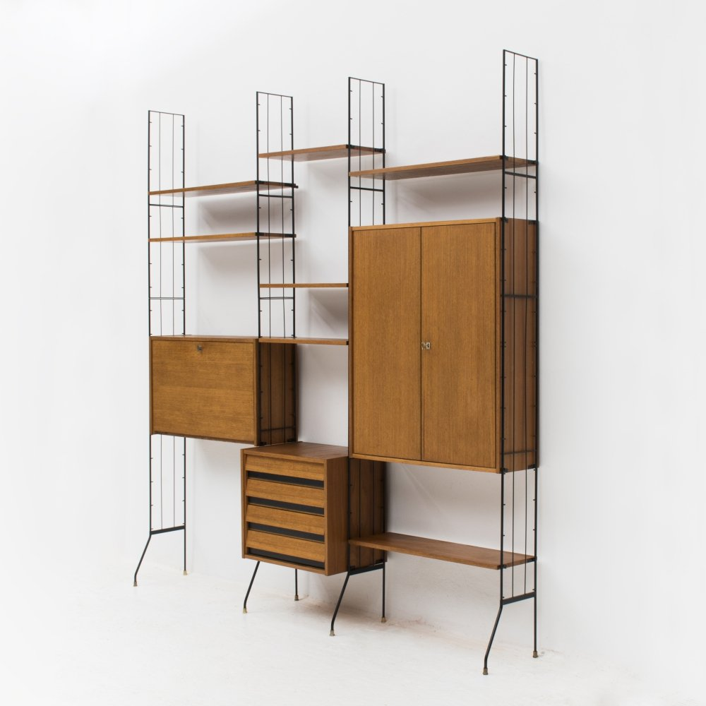 Vintage Wall unit, Italy 1960s