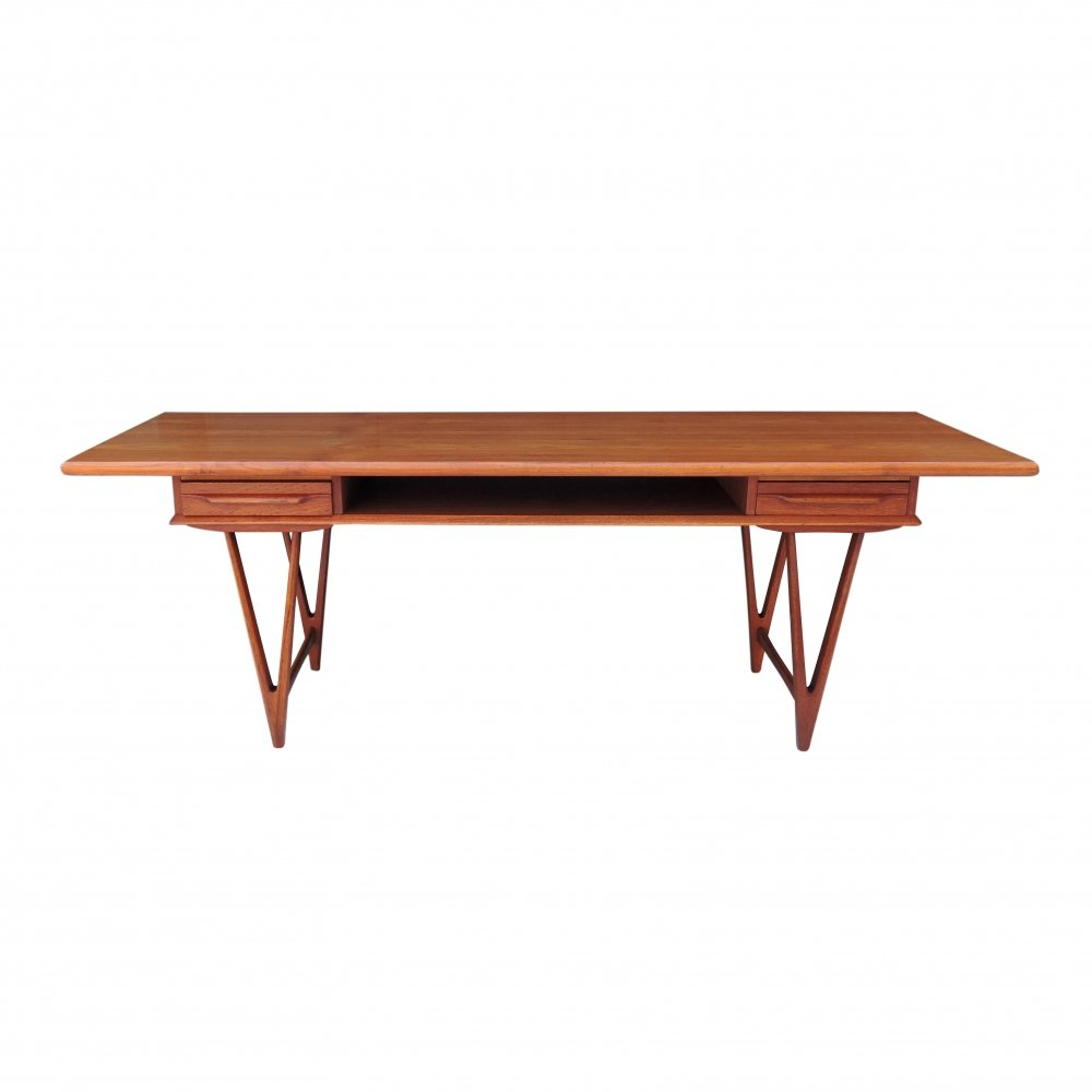Coffee Table by E.W. Bach for Toften Møbelfabrik, 1960s