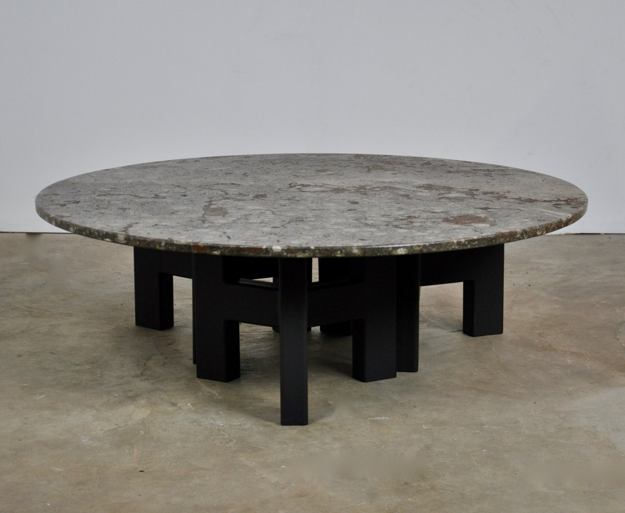 Fossilized coffee table, 1960s