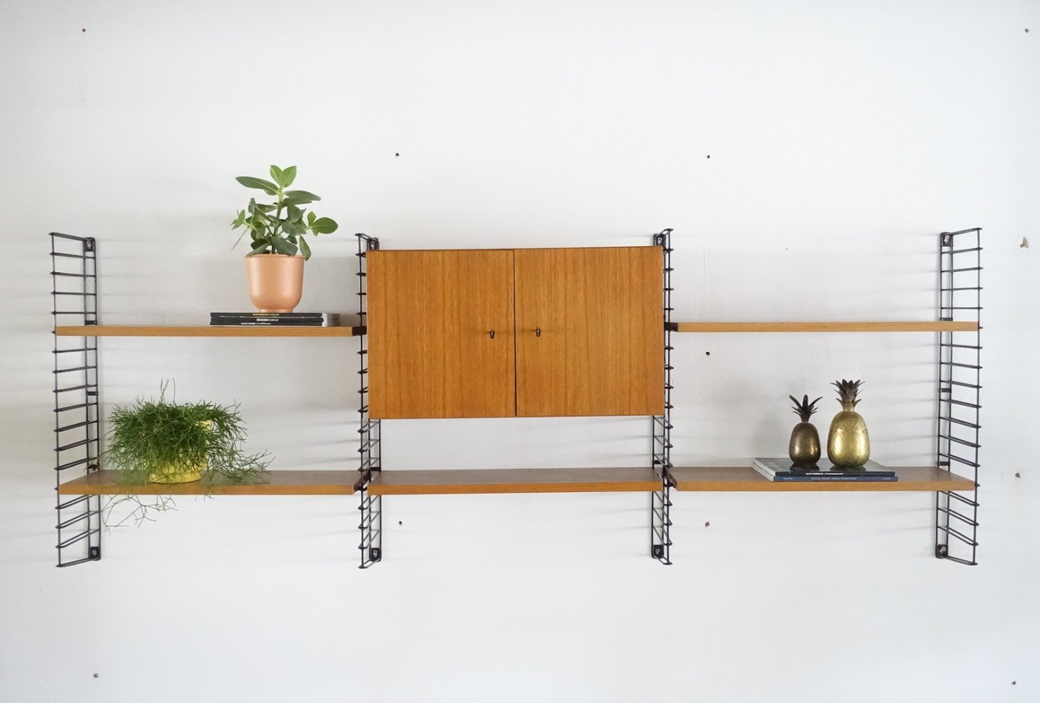 Teak wall unit by Tomado for Musterring, 1960s