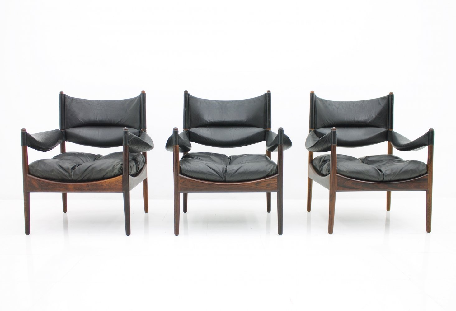 Modus Lounge Chairs by Kristian Solmer Vedel, 1963