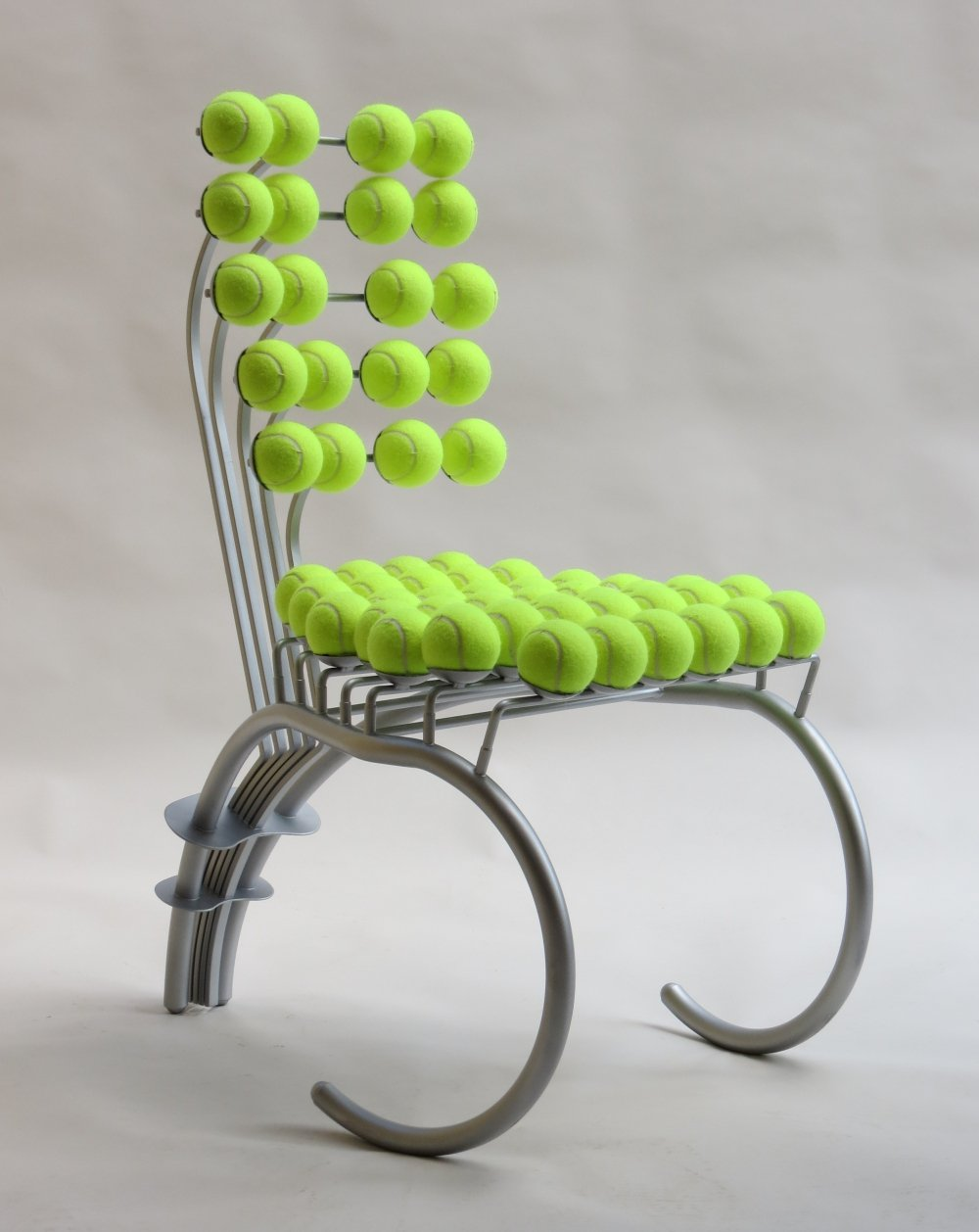 Bespoke Sculptural Tennis Ball Chair, 1980s