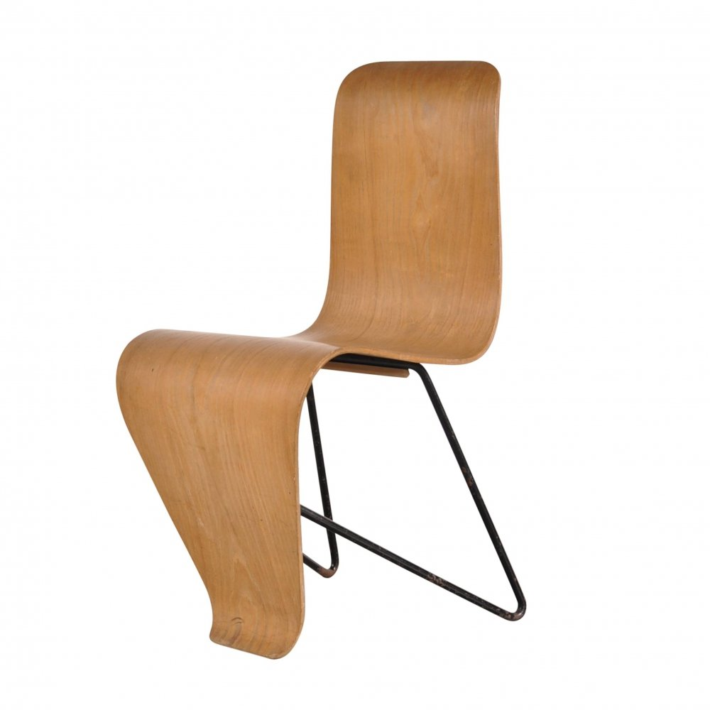Original Bellevue Chair by André Bloc, 1950s