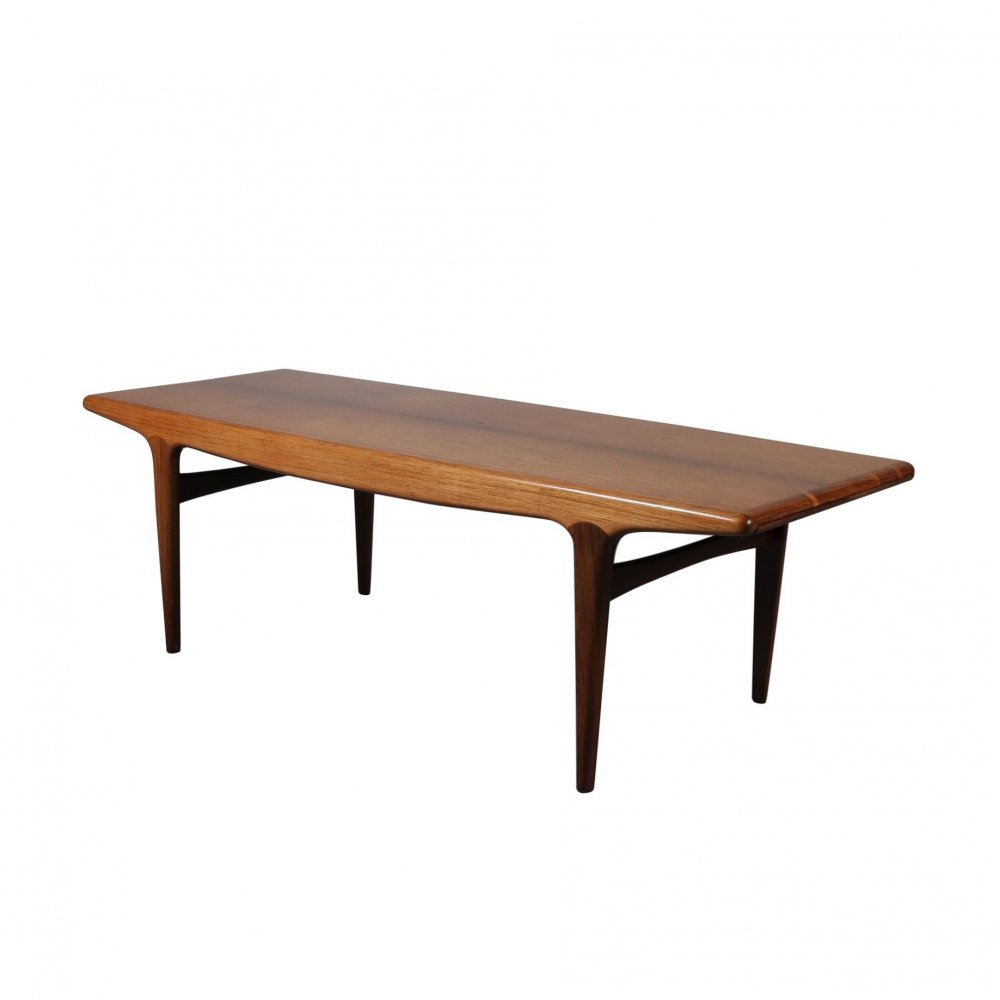 Johannes Andersen Extendible Coffee Table for Silkeborg, Denmark 1960