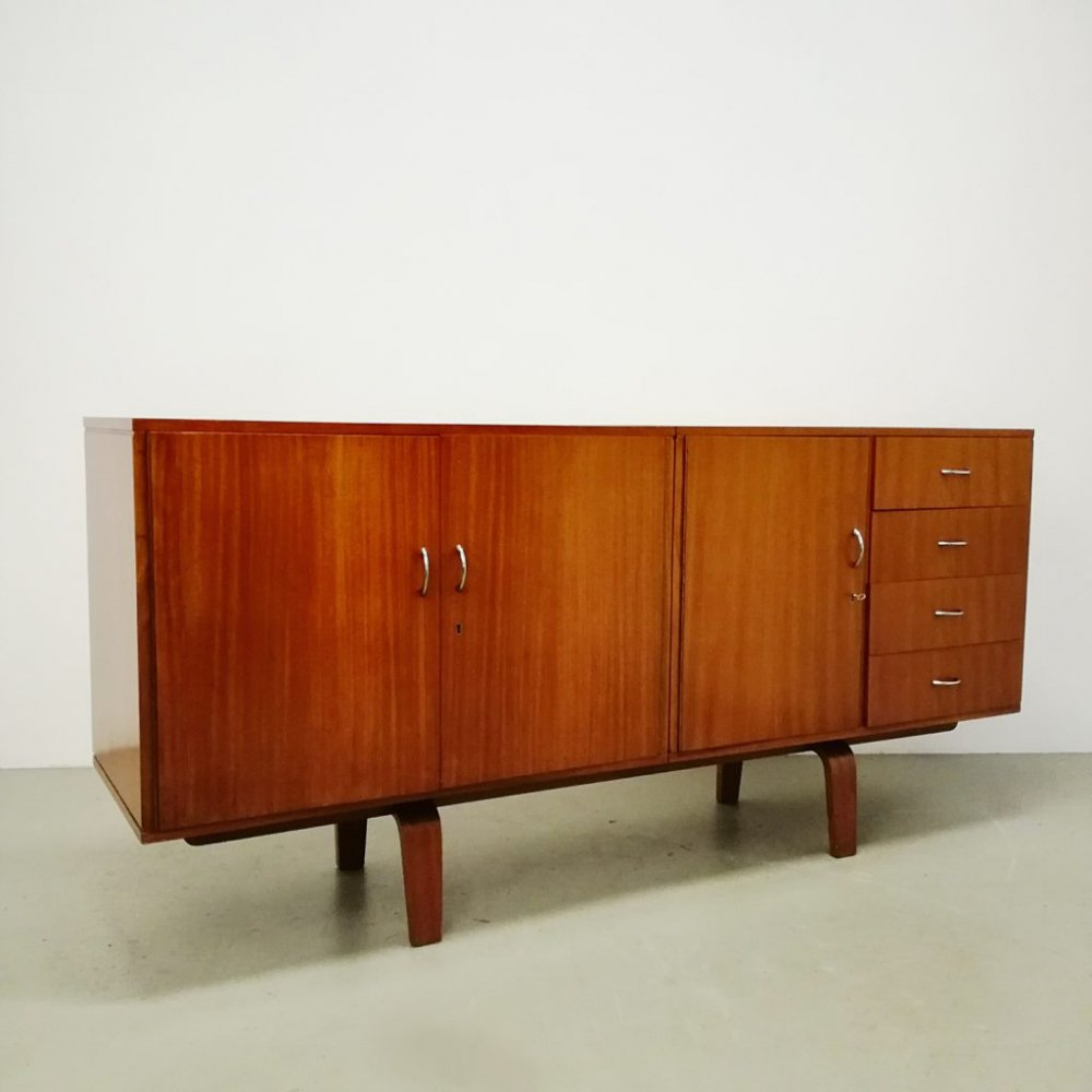 Sideboard by Cor Alons for C. den Boer, 1950s