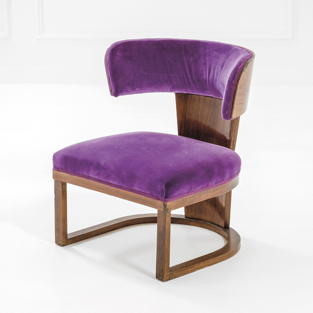 Armchair from the private house of Lapadula, 1930s