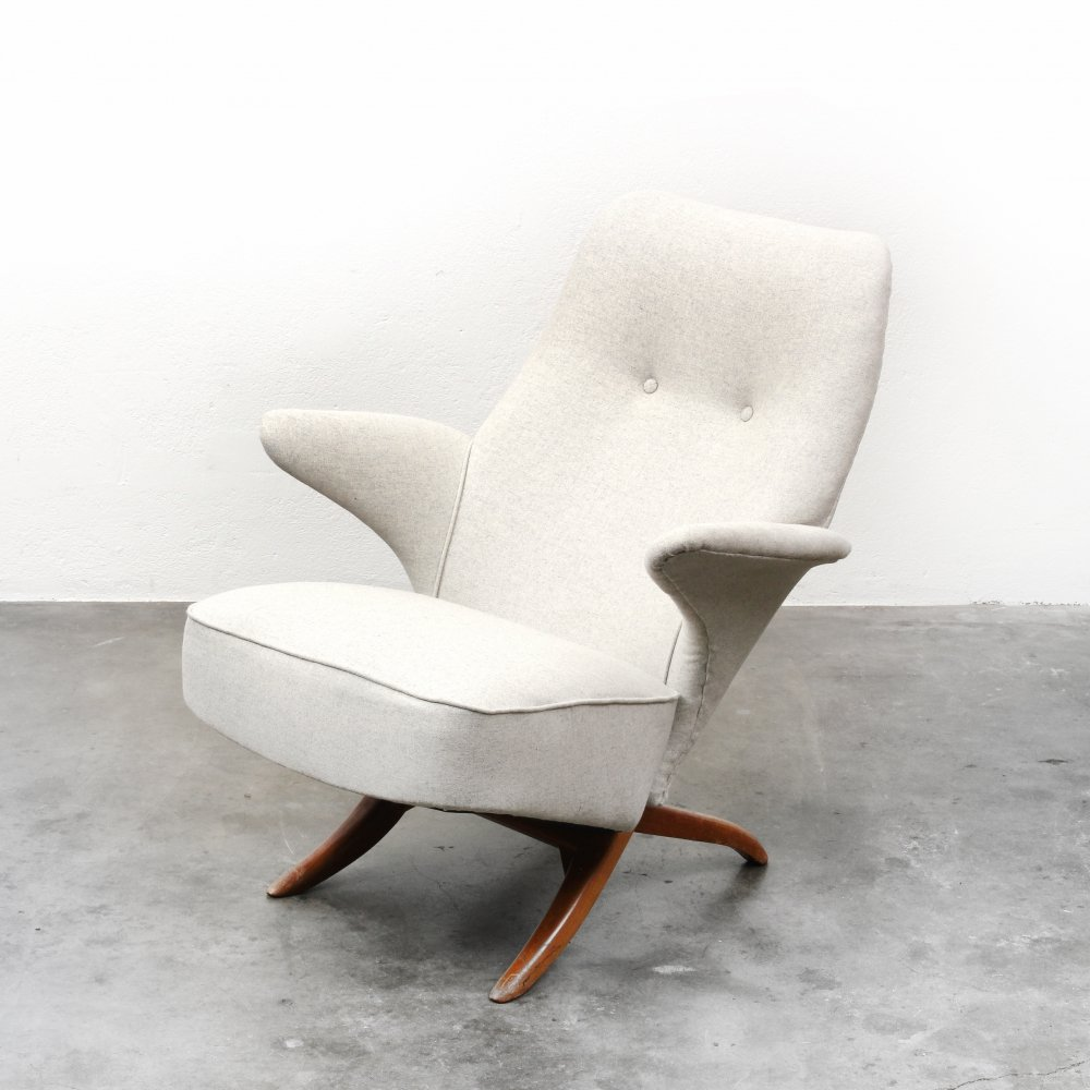 Pinquïn lounge chair by Theo Ruth for Artifort, 1950s