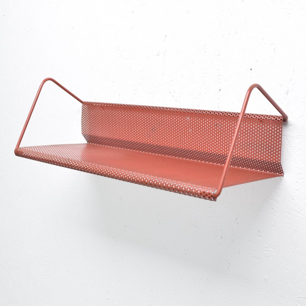 Curved shelf by Mathieu Matégot for Artimeta
