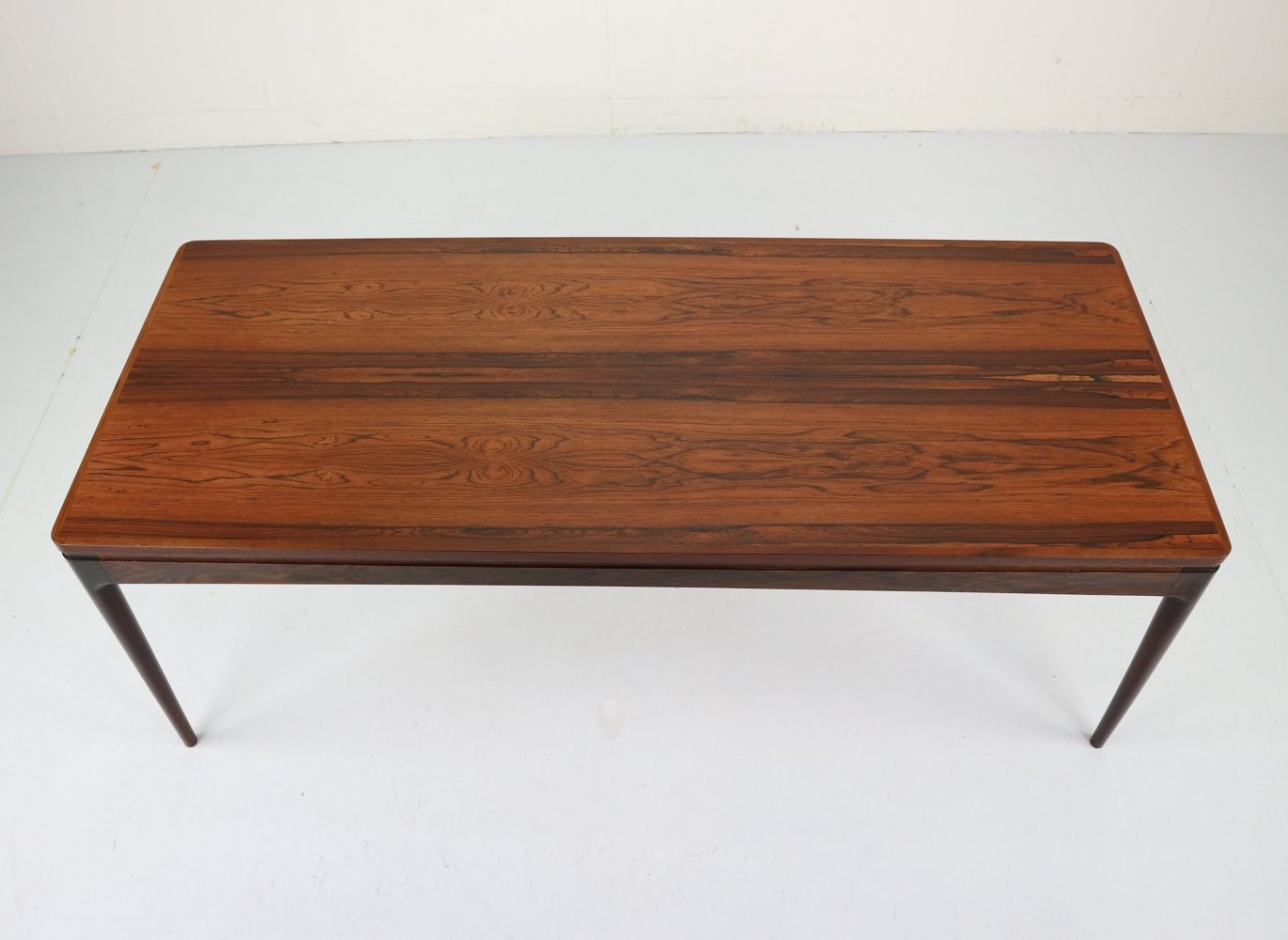 Rosewood Coffee Table by Ib Kofod Larsen for Christian Linneberg, Denmark 1960s
