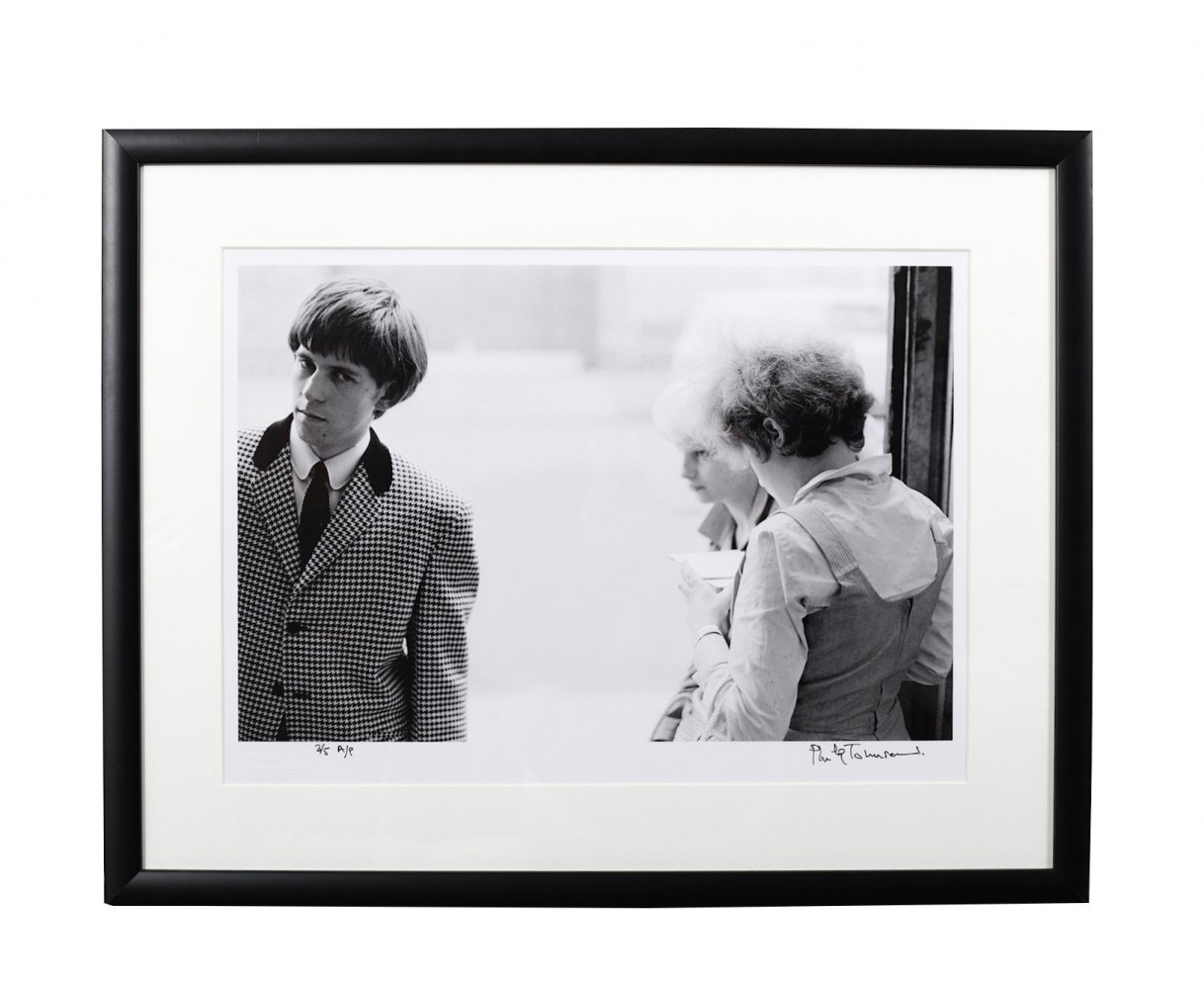Philip Townsend (1940-2016) Keith Richards & Teddy Girls, 1963 Limited Edition