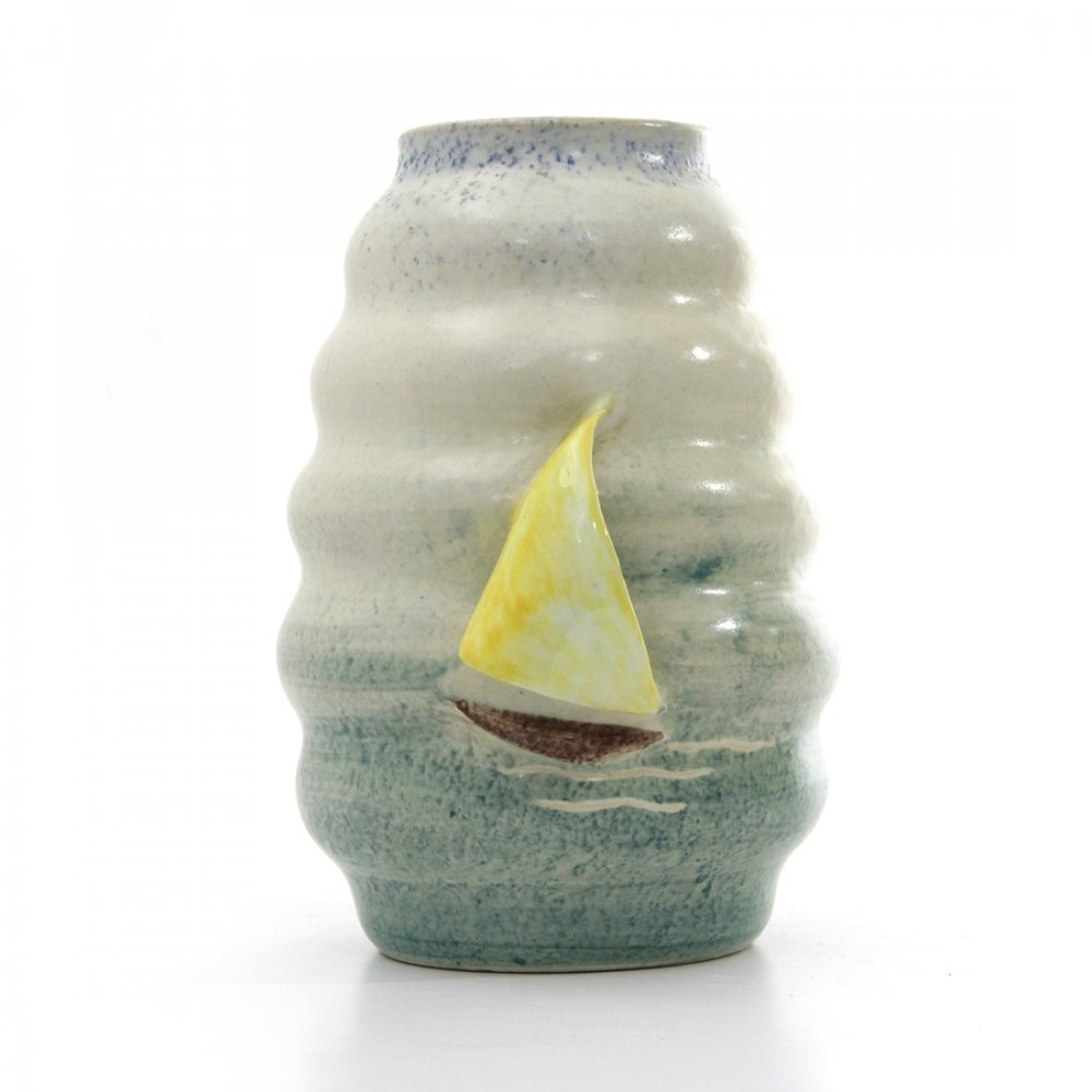 Ceramic vase by casa dell