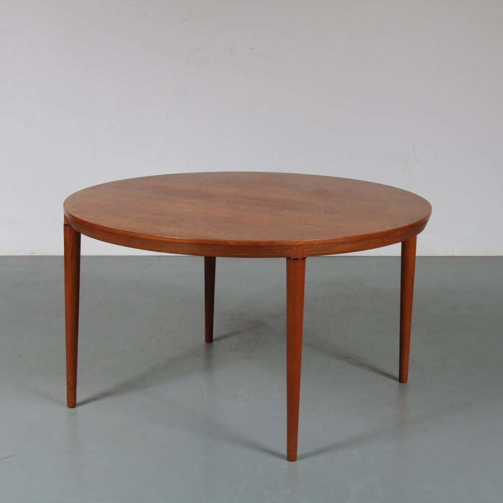 Danish coffee table by Severin Hansen for Haslev, 1960s