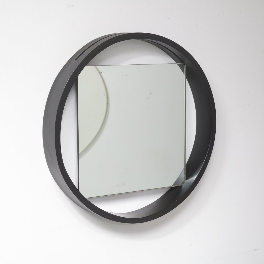 Unique mirror by Benno Premsela for