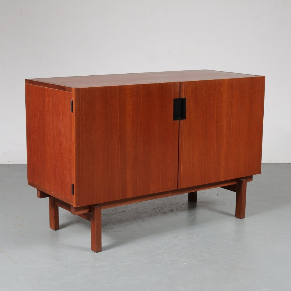 Small Japanese series sideboard by Cees Braakman for Pastoe, 1950s