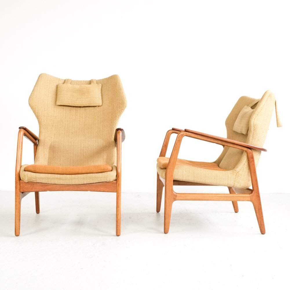 Pair of easy chairs by Aksel Bender Madsen for Bovenkamp, 1960s
