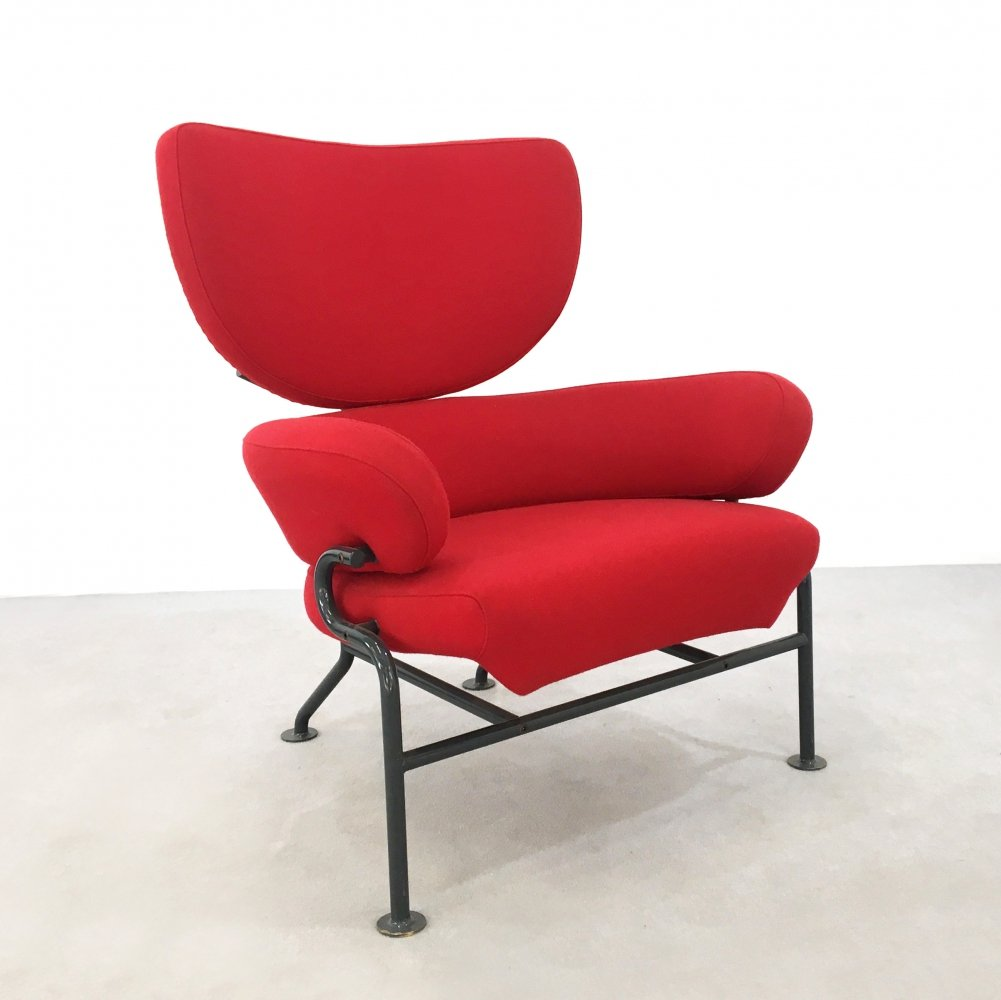 Pair of PL19- TRE PEZZI arm chairs by Franco Albini & Franca Helg for Poggi, 1950s