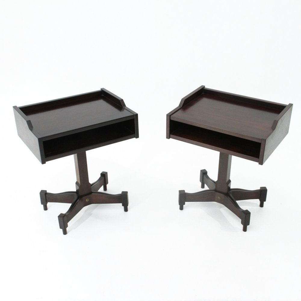 Pair of Nightstand tables by Claudio Salocchi for Sormani , 1960s