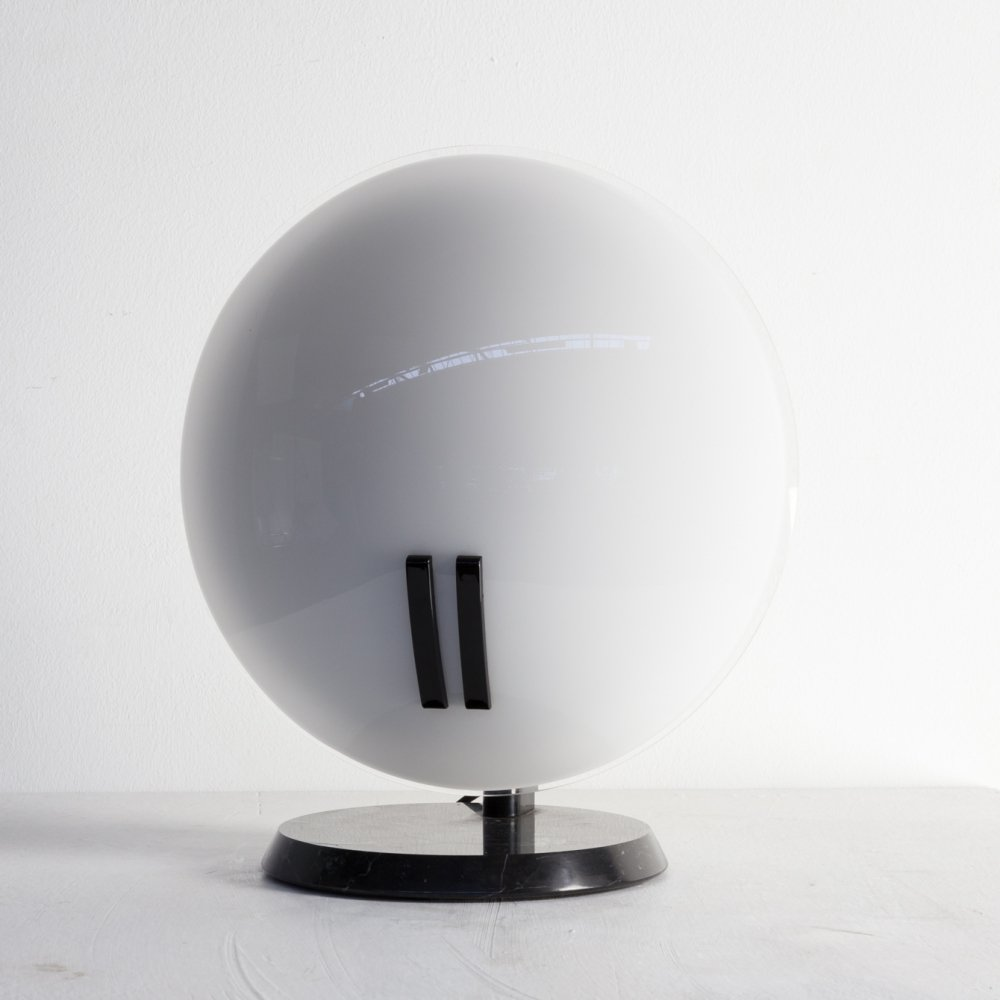 80s Bruno Gecchelin table lamp for Oluce