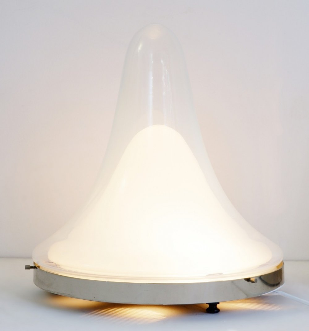 4 x Table Or Ceiling Lamp by Carlo Nason for Mazzega, Italy 1969