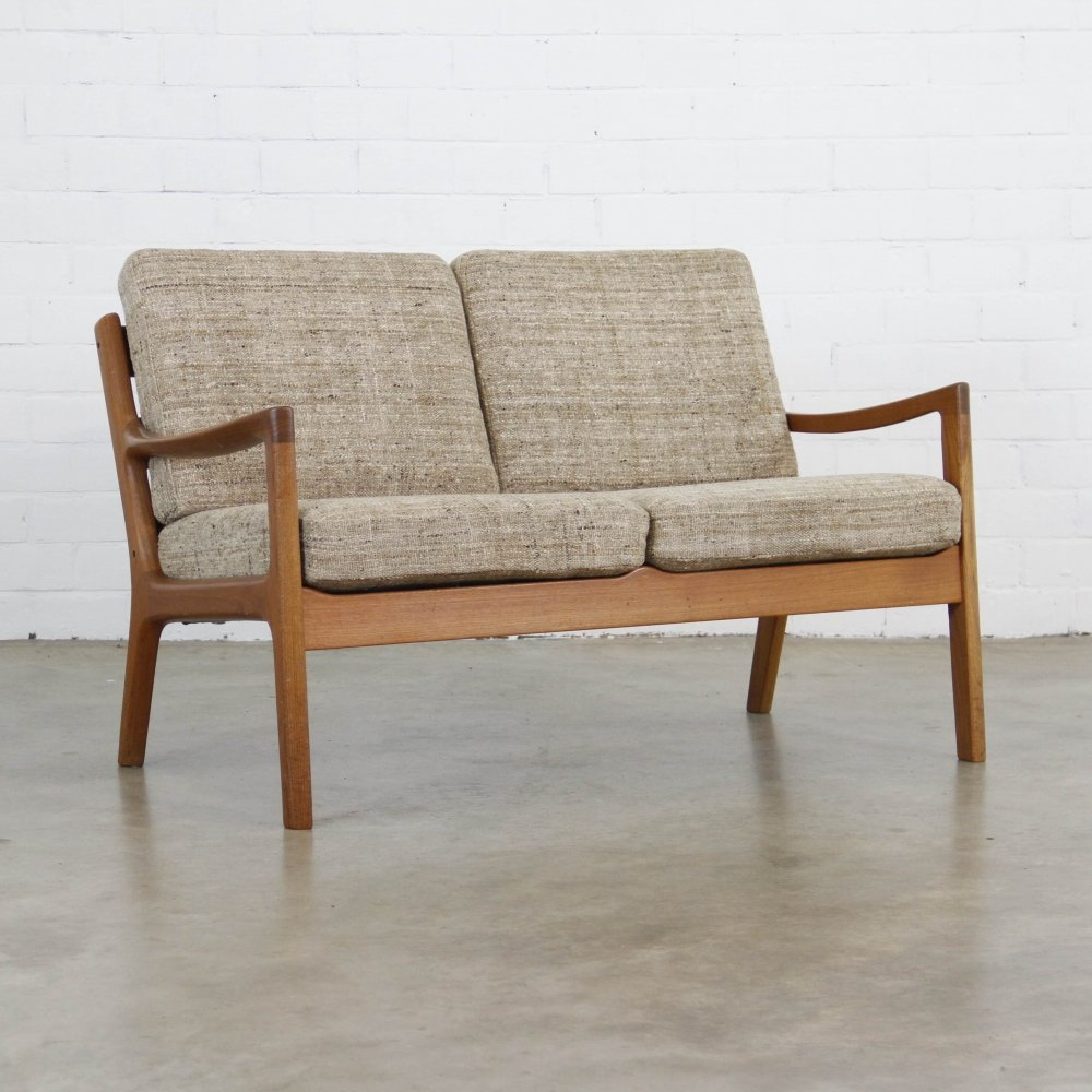 Two Seater Senator sofa by Ole Wanscher for Cado, 1950s
