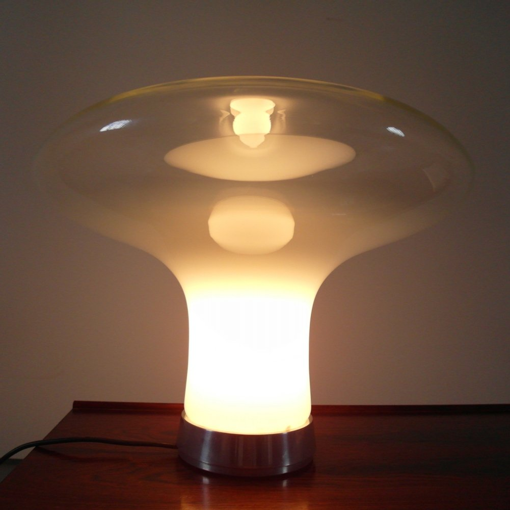 Angelo Mangiarotti Lesbo table lamp for Artemide, Italy 1967