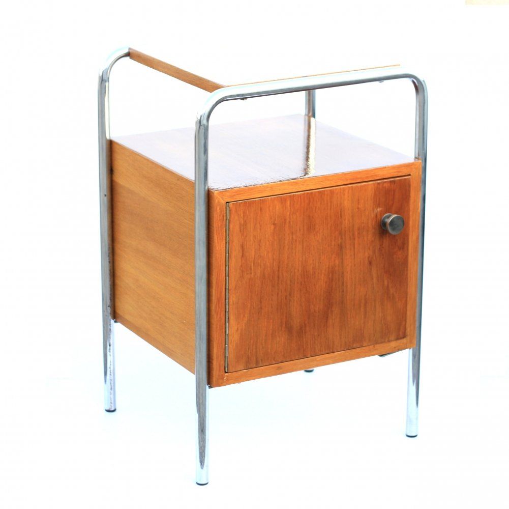 Bedside table produced by Kovona, Czechoslovakia 1960s