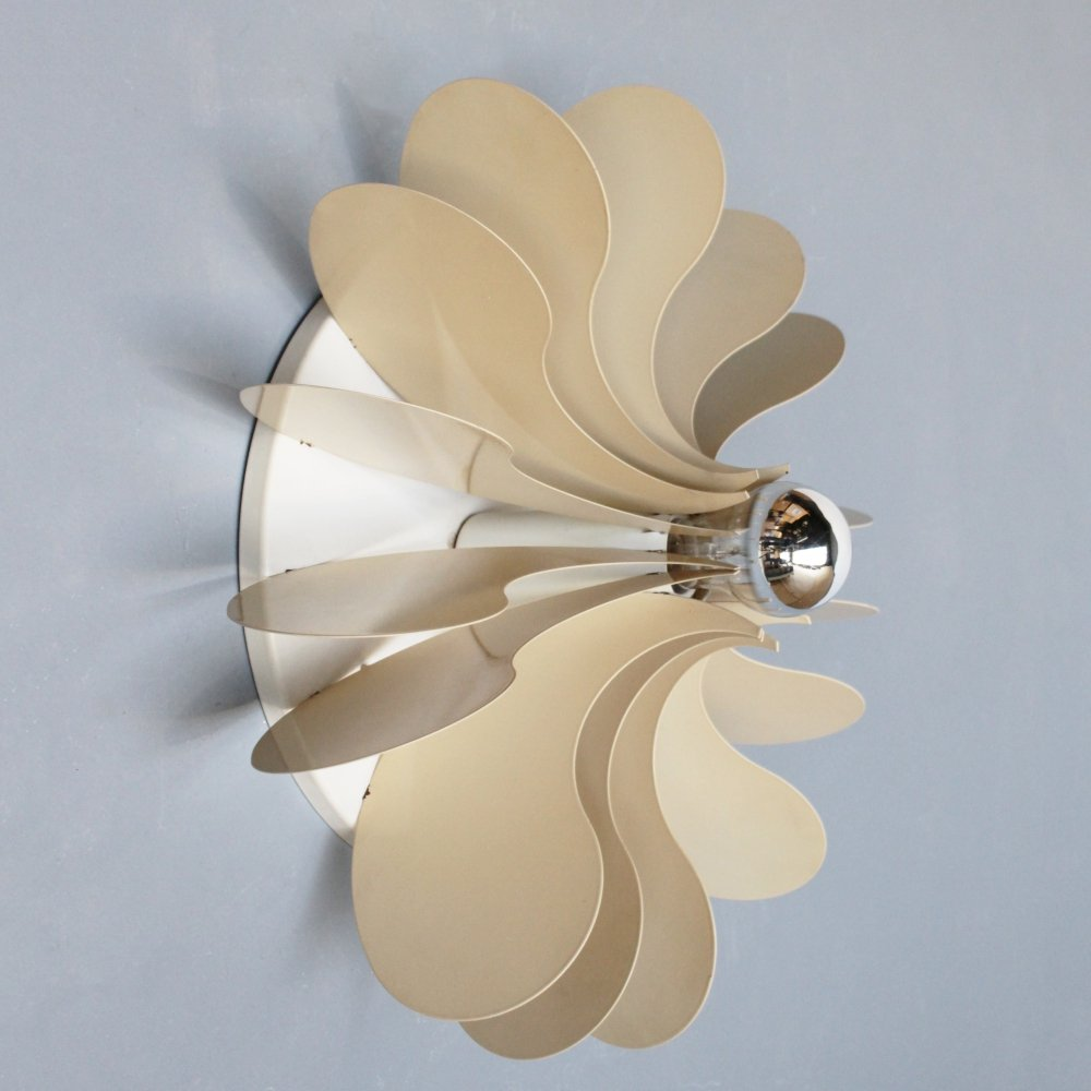 Wall light by Hermian Sneyders de Vogel for Raak Amsterdam, 1971