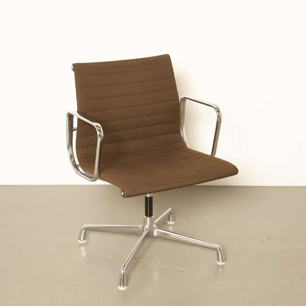 4 x EA108 Alu office chair by Charles & Ray Eames for Herman Miller, 1960s