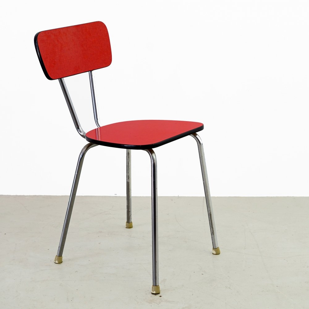 2 x Original red Kelko chair