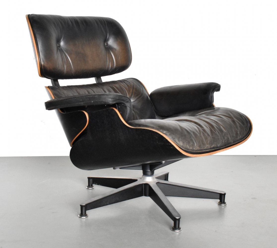 Lounge chair by Charles & Ray Eames for Herman Miller, 1970s