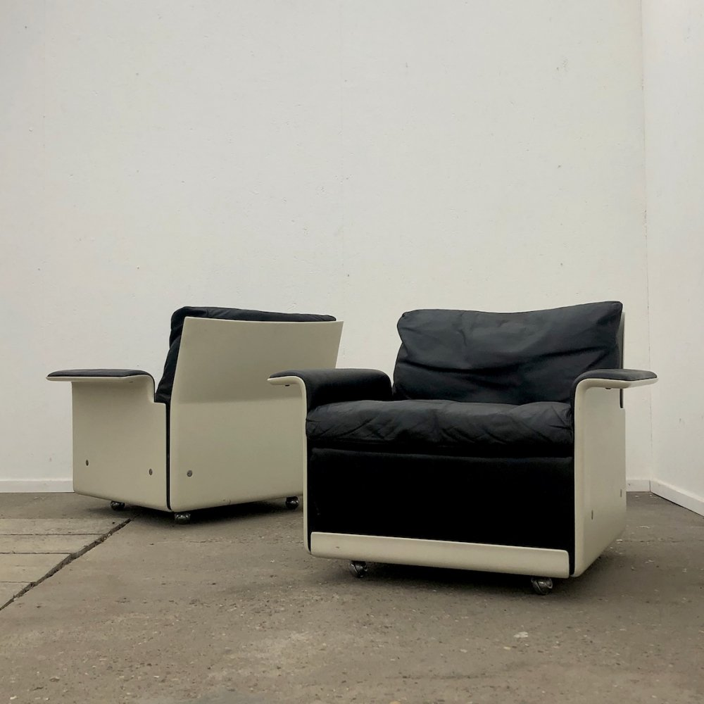Vitsœ 620 serie lounge chairs by Dieter Rams, 1960s