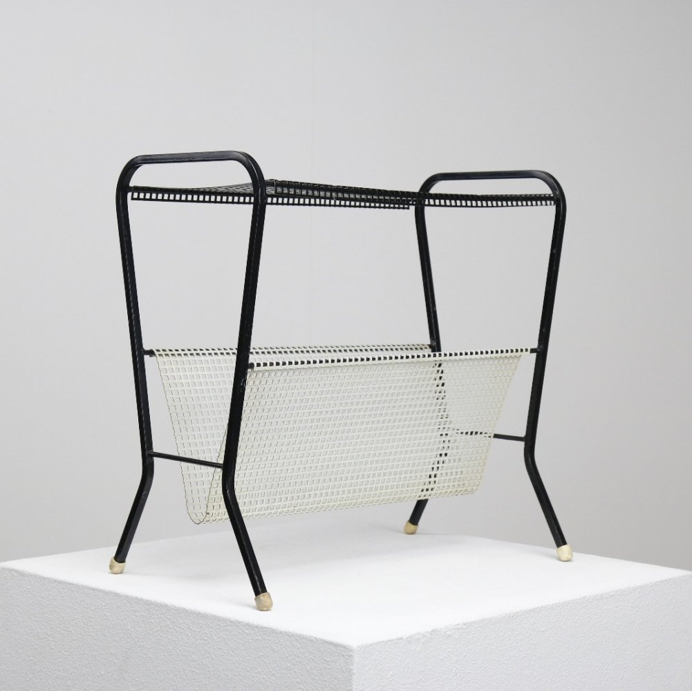 Magazine holder by Tjerk Reijenga for Pilastro, 1950s