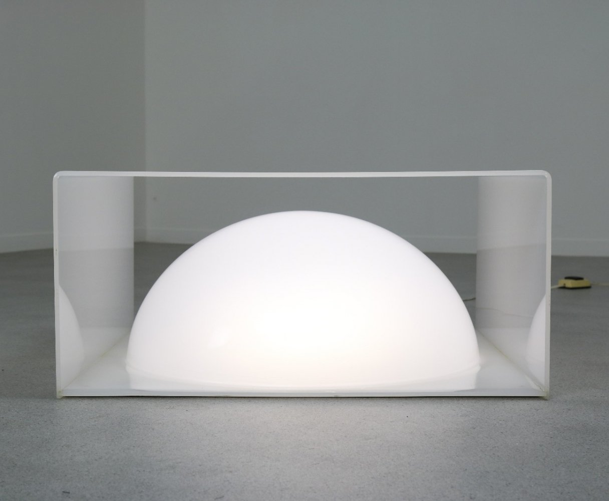 Rare light object by Rossi Molinari for Cidue, Italy 1970s