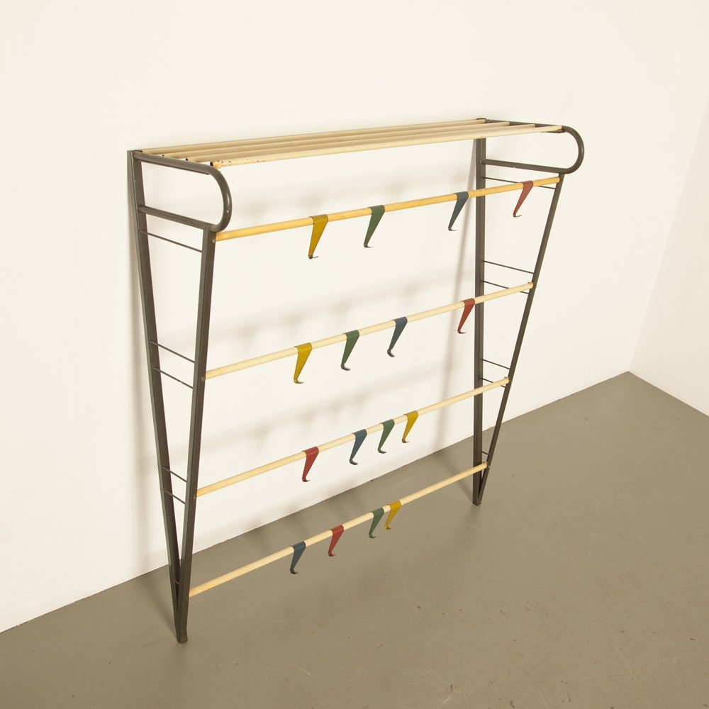 Musical scale Wall coat rack by Coen de Vries for Pilastro