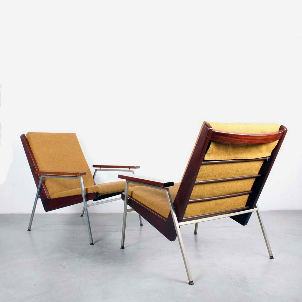Terrific Pair Of Lotus Lounge Chairs By Rob Parry For Gelderland 1960S Pdpeps Interior Chair Design Pdpepsorg