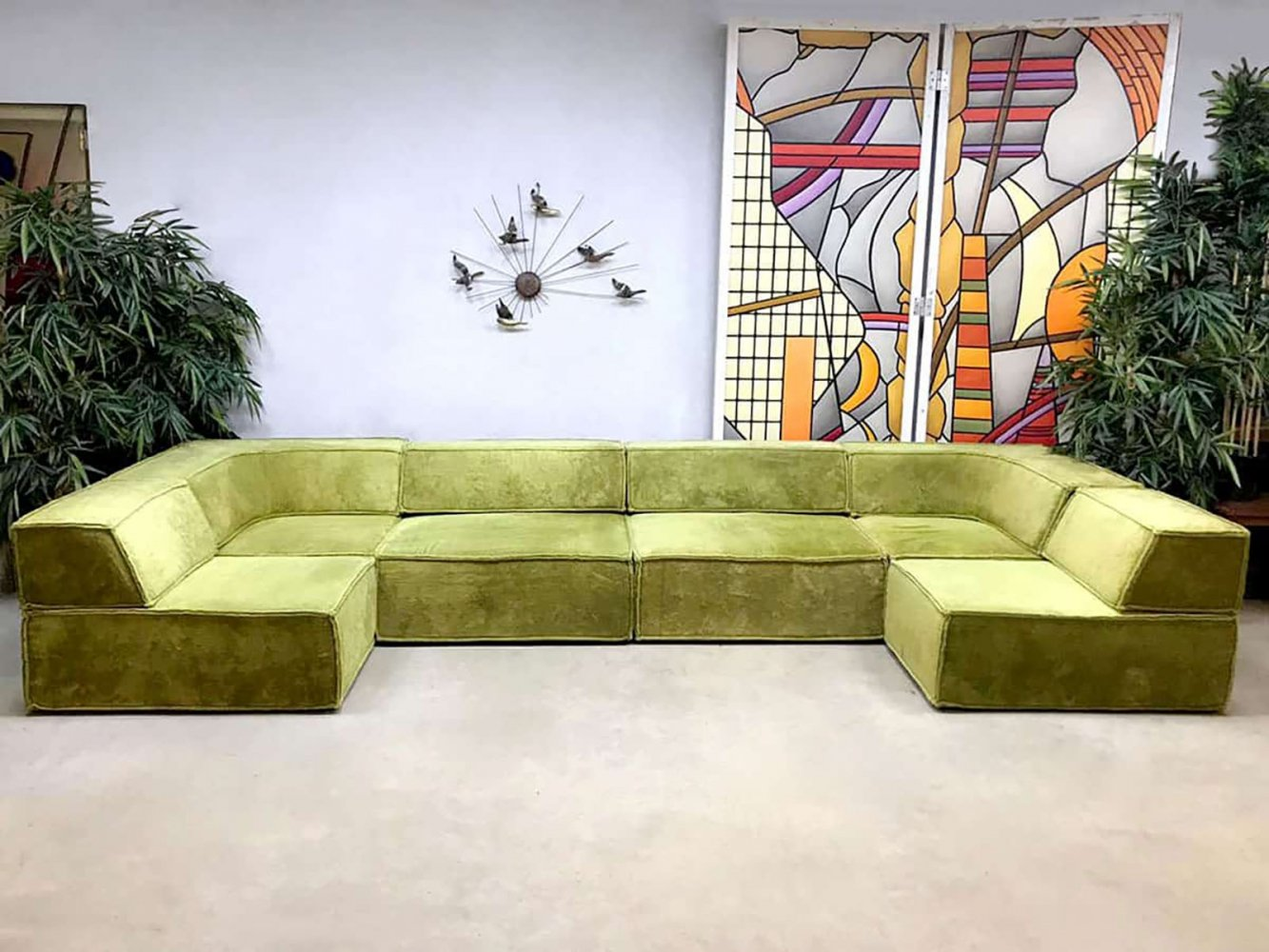 Vintage design modular sofa by Team Form AG for COR Sitzcomfort