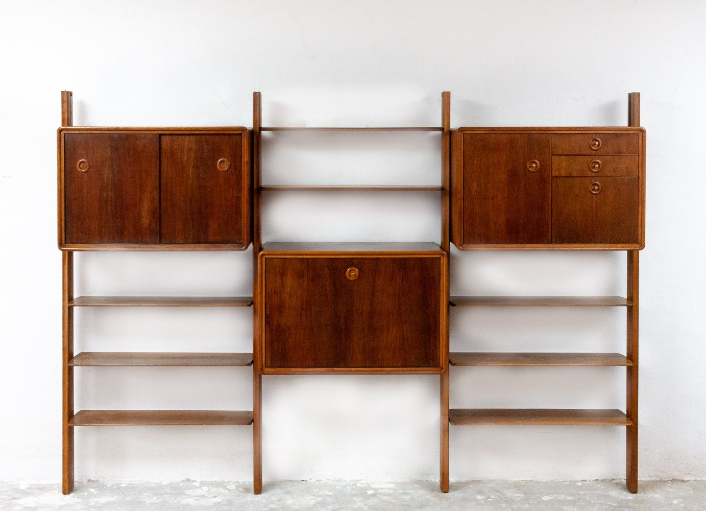 Modular wall system by William Watting for Fristho, 1950s