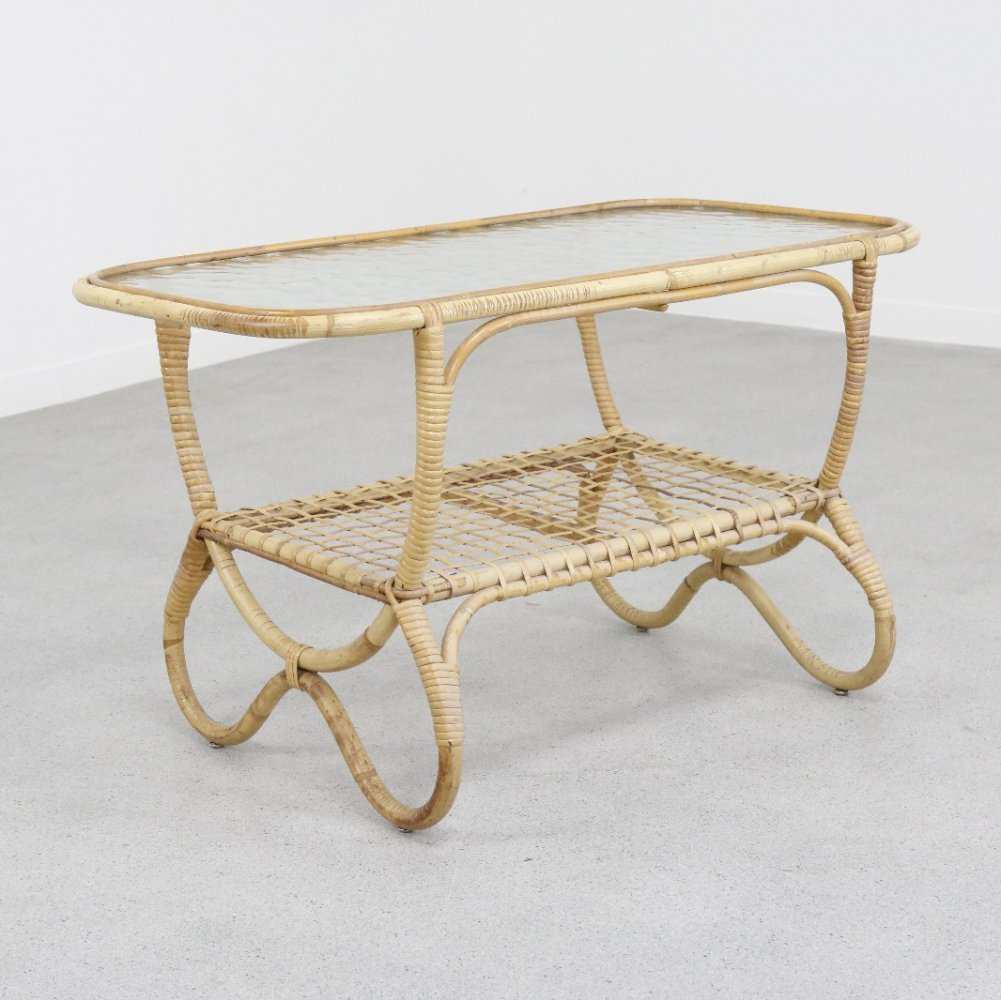 Coffee table by Dirk van Sliedregt for Rohé Noordwolde, 1950s