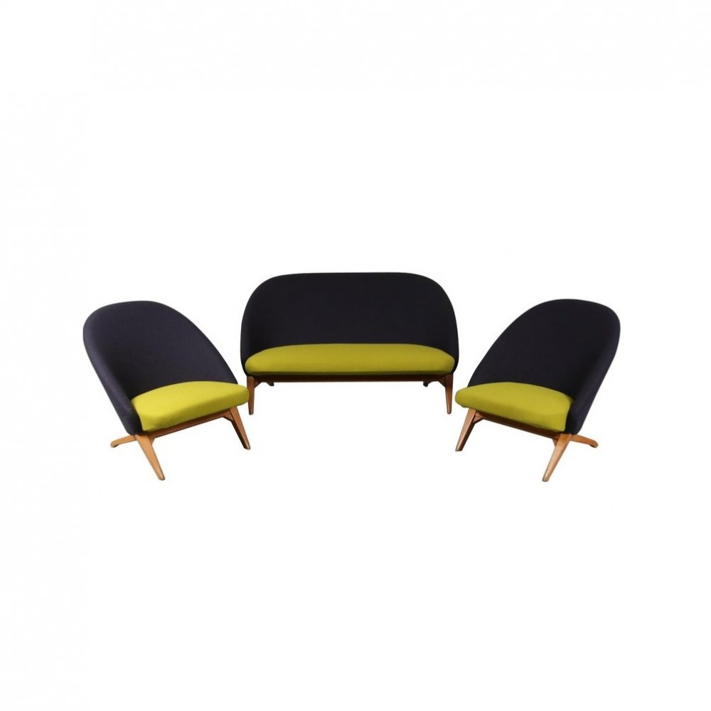 Iconic Seating set by Theo Ruth for Artifort, Netherlands 1950s