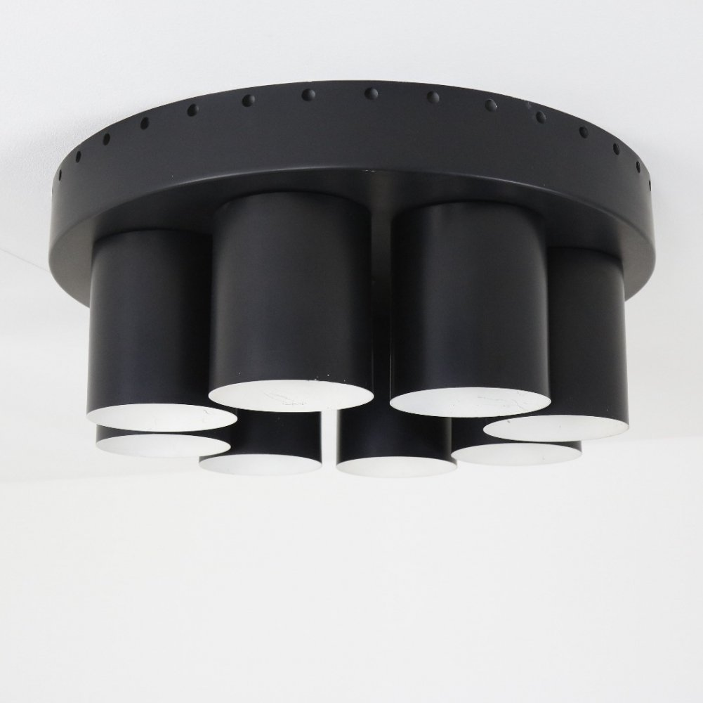 Very rare ceiling light by Hans Agne Jakobsson for AB Markaryd, Sweden 1960s