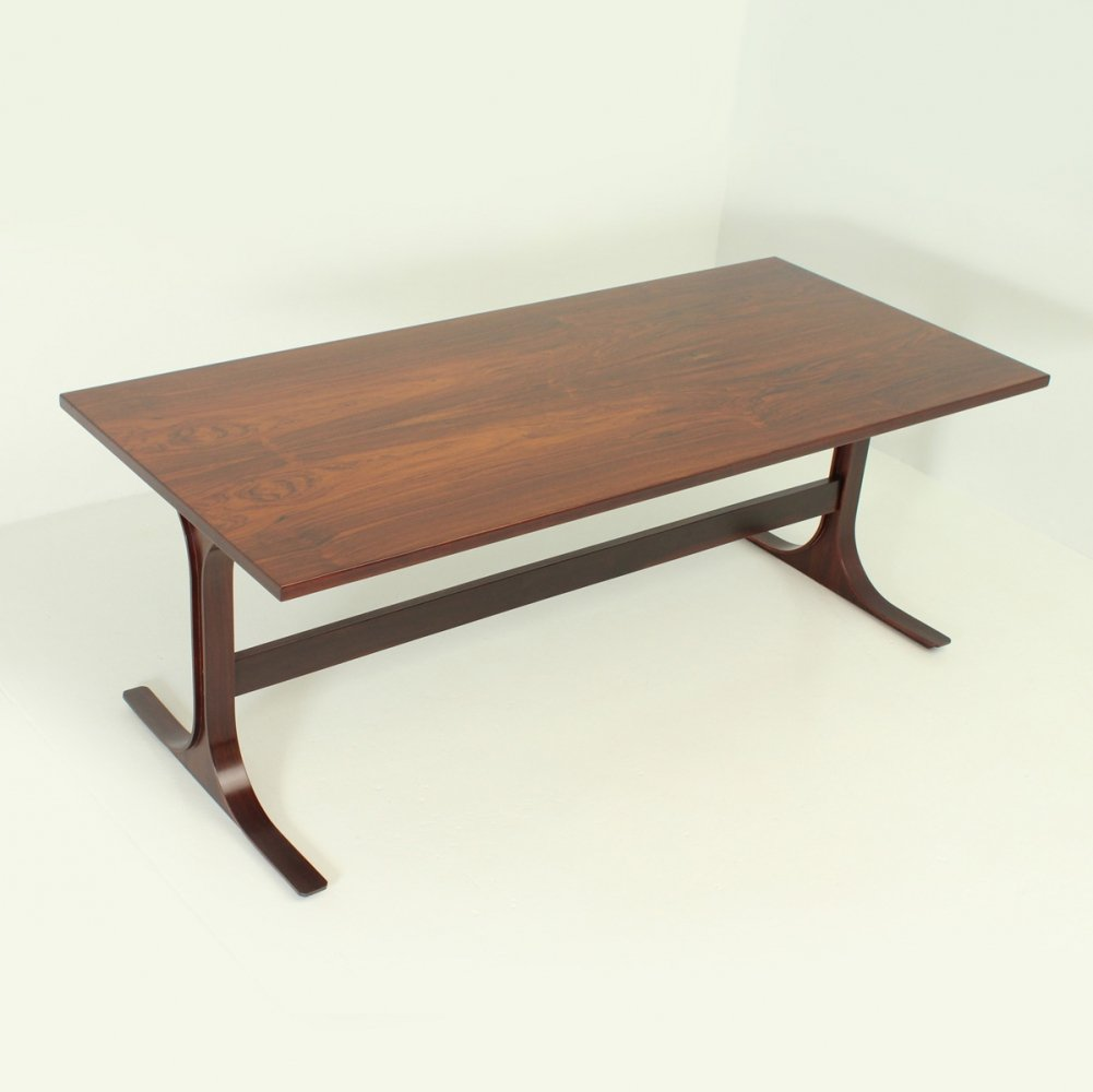 Rosewood Italian Dining Table, 1960