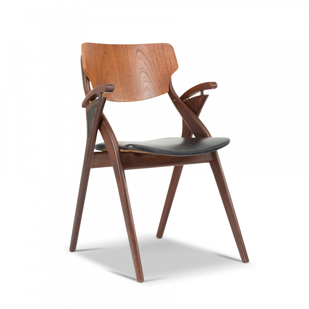 Danish rosewood chair by Arne Hovmand Olsen, 1960s