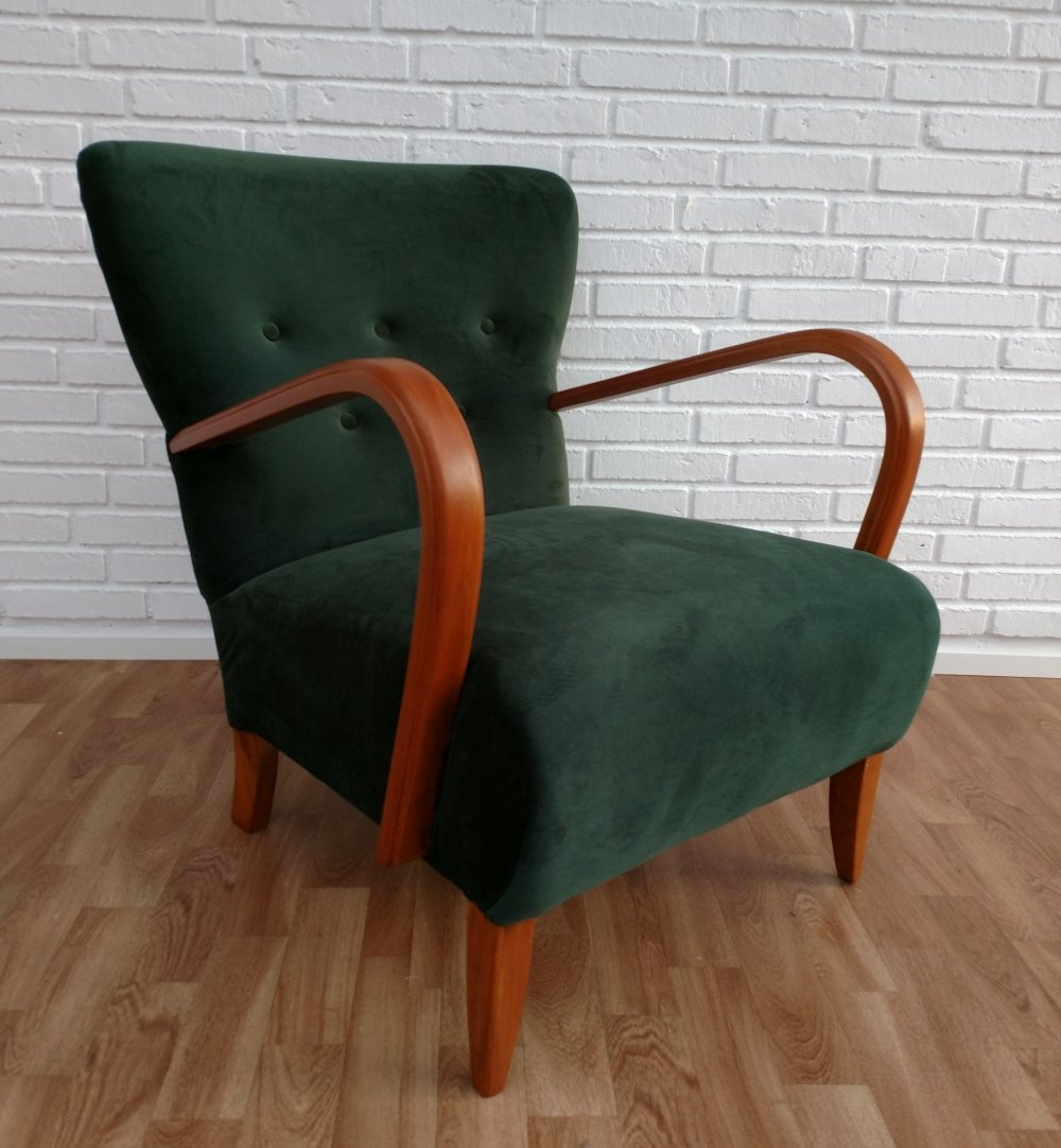 Art Deco Danish Armchair, 1950s