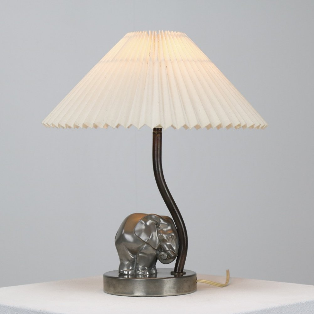 Art deco table lamp by George Nilsson for Gero, NL 1930s