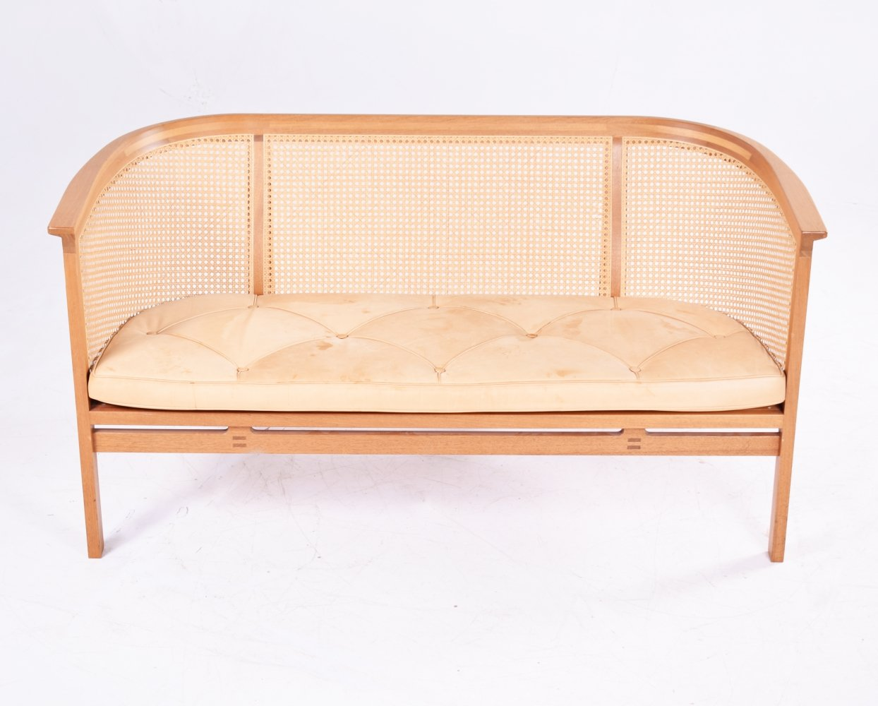Danish Sofa in Mahogany by Rud Thygesen & Johnny Sorensen for Botium, 1985