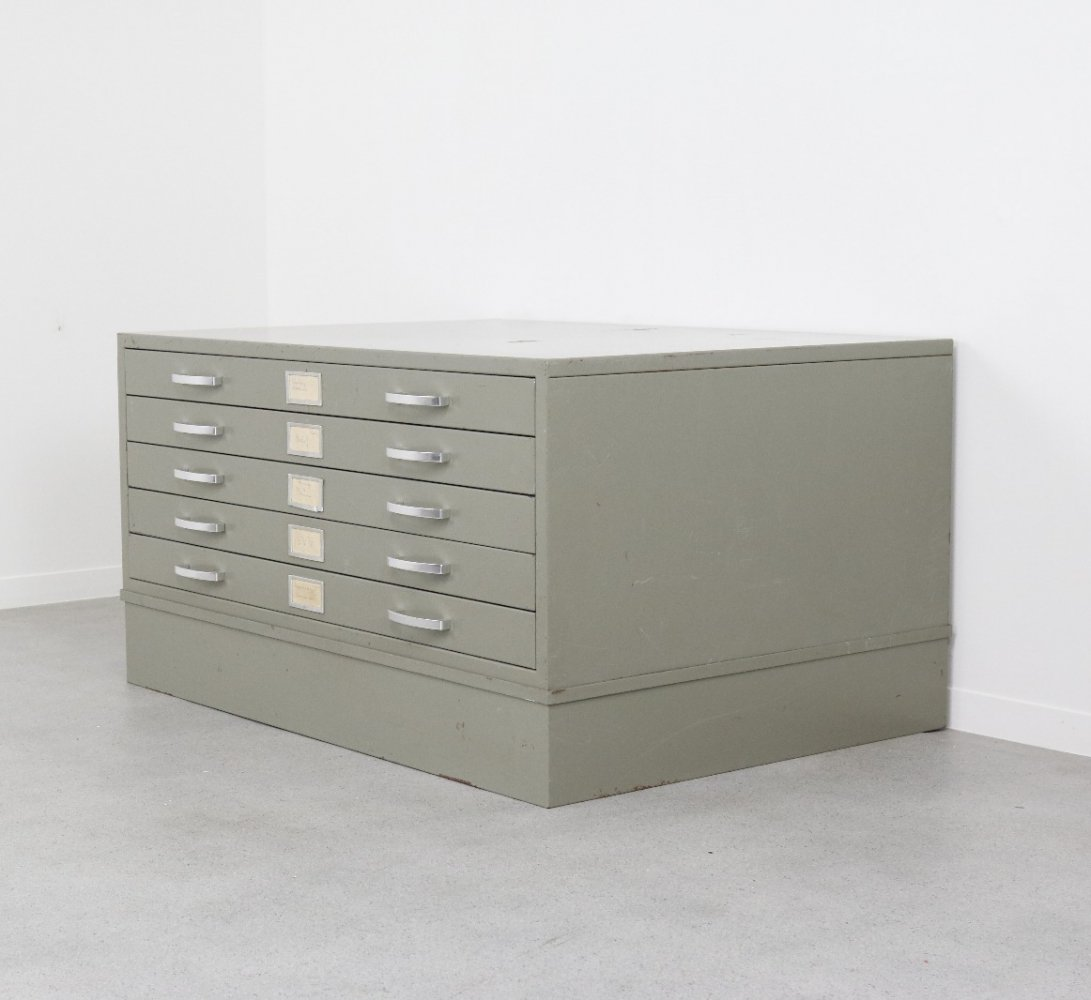 Industrial chest of drawers, The Netherlands 1960s